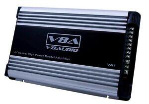 High Power Mosfet Amplifier 4 Channel 500 Watt Car V8 Audio VA1
