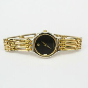 Movado Ladies' Swiss Quartz 9809888 Gold Tone Watch