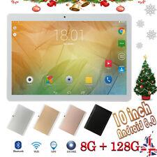 10.1'' Tableta Android 8.0 10 core 8+128GB WiFi 3G 16MP Cámara TabletPC 2 SIM
