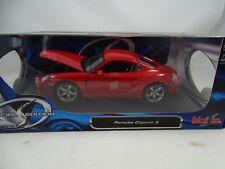 1:18 Maisto Edición Especial #31122 Porsche Cayman S Red - Rareza $