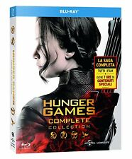 Blu Ray The Hunger Games - Complete 4 Film Collection (4 Blu-Ray Disc) ...NEW