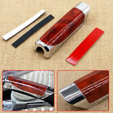New Universal Car Auto Hand Brake Handle Cover Protector Imitation Wood Style