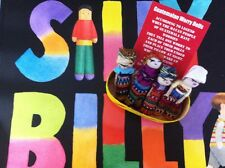 GUATEMALAN WORRY DOLLS -  SILLY BILLY BOOK AND 4  DOLLS