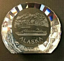 Swarovski Alaska Cruise Paperweight - 60 Mm - Mint in Box - Rare