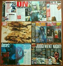 White Zombie Rob Zombie Sean Yseult magazine poster articles clippings