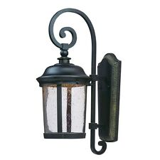 Maxim Dover LED Outdoor Wall Light Lantern, Bronze - 55024CDBZ
