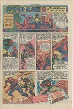 RARE AMAZING SPIDERMAN ADVERTISEMENT AD 1975 PROMO HOSTESS TWINKIES PROMOTIONAL