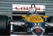 Nigel Mansell Hand Signed Williams 1992 World Champion Photo 12x8 11.