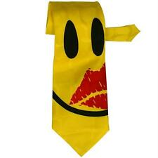 Smile Kiss Face Neck Tie