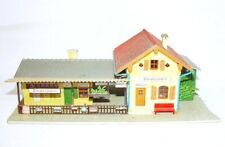 Faller HO 1:87 RAILWAY STATION ZINDELSTEIN BUILDING Ready Built House Kit NM`75!