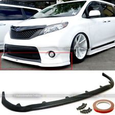 For 11-17 Toyota Sienna SE Sport MP Style Front Bumper Chin Lip Spoiler Bodykit