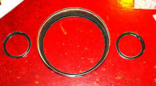 MINI Austin/Morris glass to bezel instrument seals; centre plinth type.