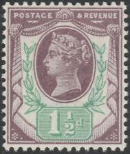 1887 JUBILEE SG198 11/2d DEEP PURPLE & GREEN UNMOUNTED MINT K29(3)