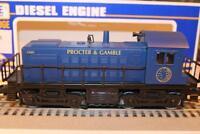 VINTAGE K-LINE TRAINS - PROCTOR & GAMBLE S-2 DIESEL LOCO- 0/027-  BOXED- W22