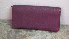 Nordstrom Wallet Women's Genuine Leather Purple Accessory