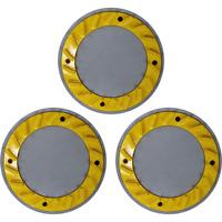 "19"" Cimex Yellow Smooth Grind Diamond Blades - Set of 3 - YEL20"