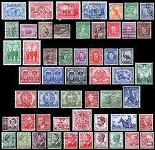 Australia Scott 112 / 159 (1931-51) Used/Mint H F-Vf, Cv $62.20