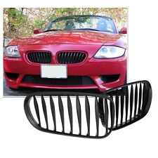 Matt Black Front Kidney Grille Sporty Style Grill for BMW Z4 E85 E86 03-08