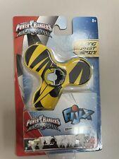 Power Rangers *  Ninja Steel * Fidget Spinner * GOLD  Ranger * Brand New