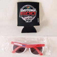 Daytona 500 Koozie Cup Cooler & Sunglasses Lot Nascar 59th Annual 2017 Speedway