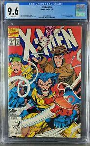 X-Men #4 (1992) CGC 9.6 NM/M WP 1st app Omega Red (3824798003) 
