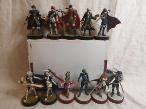 Fire Emblem Lot of 11 Smash Bros Amiibo Lot Nintendo Set Figure NTSC NA