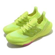 Adidas Ultraboost 21 Solar Amarillo Rosa Zapatos Tenis Informales Correr Para hombres FY0848