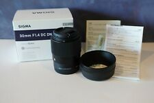 Sigma 30mm f1.4 DC DN for Sony E-Mount !MINT CONDITION!
