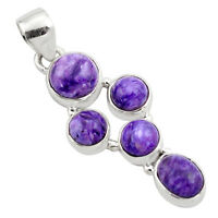 925 Sterling Silver 8.42cts Natural Multicolor Mexican Fire Agate Pendant P88906