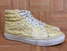 RARE🔥 VANS Vault Sk8-Hi LX Croc Crocodile Patent LE SZ 11 Men's Sneakers SICK!