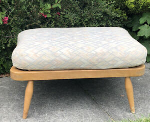 Vintage Ercol Windsor 341 Footstool with cushion
