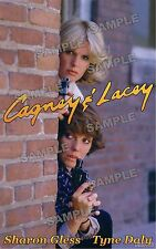 Cagney & Lacey Fan Made Poster print #1 11 X 17 Sharon Gless Tyne Daly