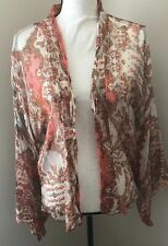 Free People One Kimono Wrap Top/Cover-up S/P Shimmering