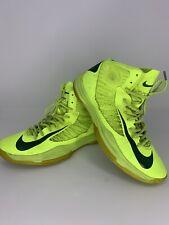 Nike Lunar Hyperdunk 524934-700 Volt/Gorge Green Brazil Away Size US 9.5 BBALL