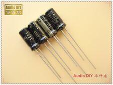 10pcs ELNA Black Gold SILMIC II Generation 10uF/35V Audio Electrolytic Capacitor