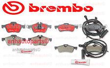 Mini Cooper R53 R54 2002-2004 L4 1.6L Brembo Complete Disc Brake Pads Kit