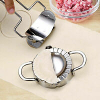 DI- Stainless Steel Dumpling / Jiaozi Skin Maker Mould Set Kitchen Cook Tool Mol