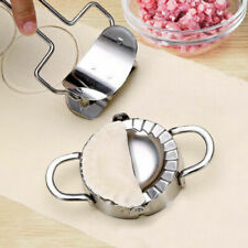 AU_ Stainless Steel Dumpling / Jiaozi Skin Maker Mould Set Kitchen Cook Tool Mol