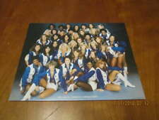 1978 Dallas Cowboys Cheerleaders team picture 8x10 card photo