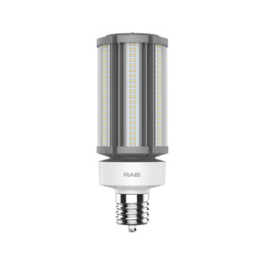 RAB 54W Mogul Base 4000K LED HID Retrofit Lamp - Replaces 200W MH 28045
