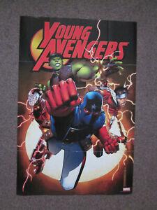 Marvel Comics Avengers Young Avengers Marvel Comics Superhero Poster 36 x 24