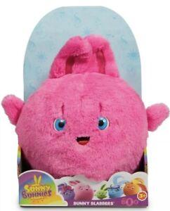 Sunny Bunnies Bunny Blabbers Talking Plush BIG BOO Pink