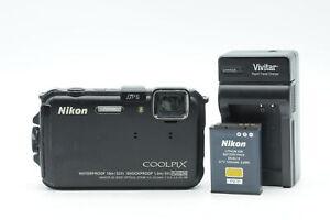 Nikon Coolpix AW100 16MP Digital Camera w/5x Zoom #221