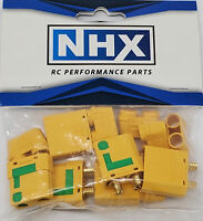 NHX XT90S Anti-Spark Adapter Connector Plug Male / Female 3Pairs/Bag