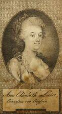UNBEKANNT (16.Jhd), Porträt Anna Elisabeth Luise Brandenburg-Schwedt (1738-1820)