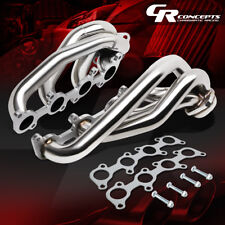 FOR 11-14 FORD F150 5.0 COYOTE 302 V8 STAINLESS STEEL EXHAUST MANIFOLD HEADER