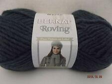 Bernat Roving Yarn ~ Cobalt #00104 ~ Wool Blend ~ #5 Bulky ~ 100g ~ 120 yds