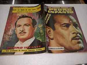 Los Amores intimos de Pedro Infante # 34 año 1965 Mexican Comic book