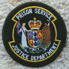 More details for new zealand prison officers patch
