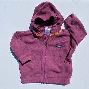 Patagonia Baby Fleece Jacket 12 Months Zip Up Retro? Vintage?